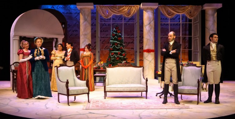 Miss Bennet Christmas At Pemberley.Review Miss Bennet Christmas At Pemberley Arts Culture