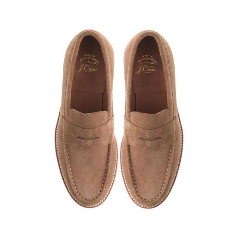 6aa8035fb32 J.Crew Kenton Suede Loafer- A great alternative to leather and perfect for  fall