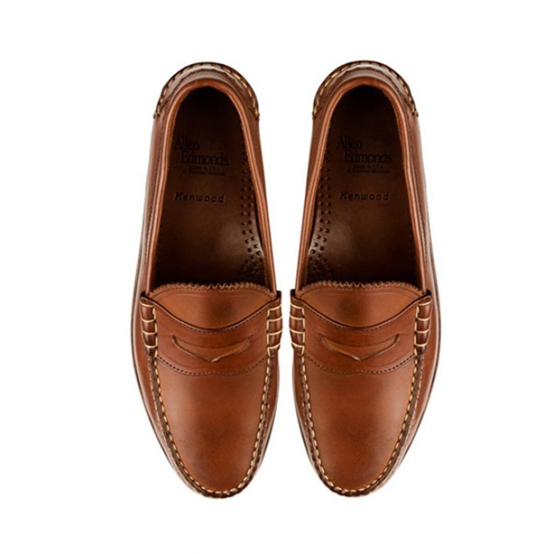 08a8d806f3e Allen Edmonds Kenwood Penny Loafers - Boasting plenty of subtle style  updates to the classic penny loafers